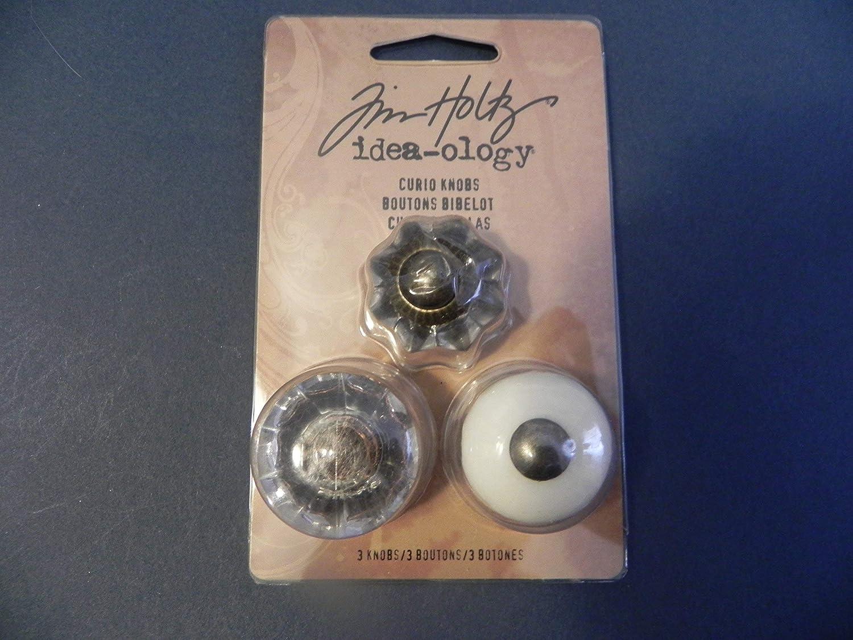 Tim Holtz Idea-ology Curio Knobs Embellishments Ideaology TH92840