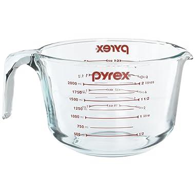 Pyrex Prepware 2-Quart Glass Measuring Cup