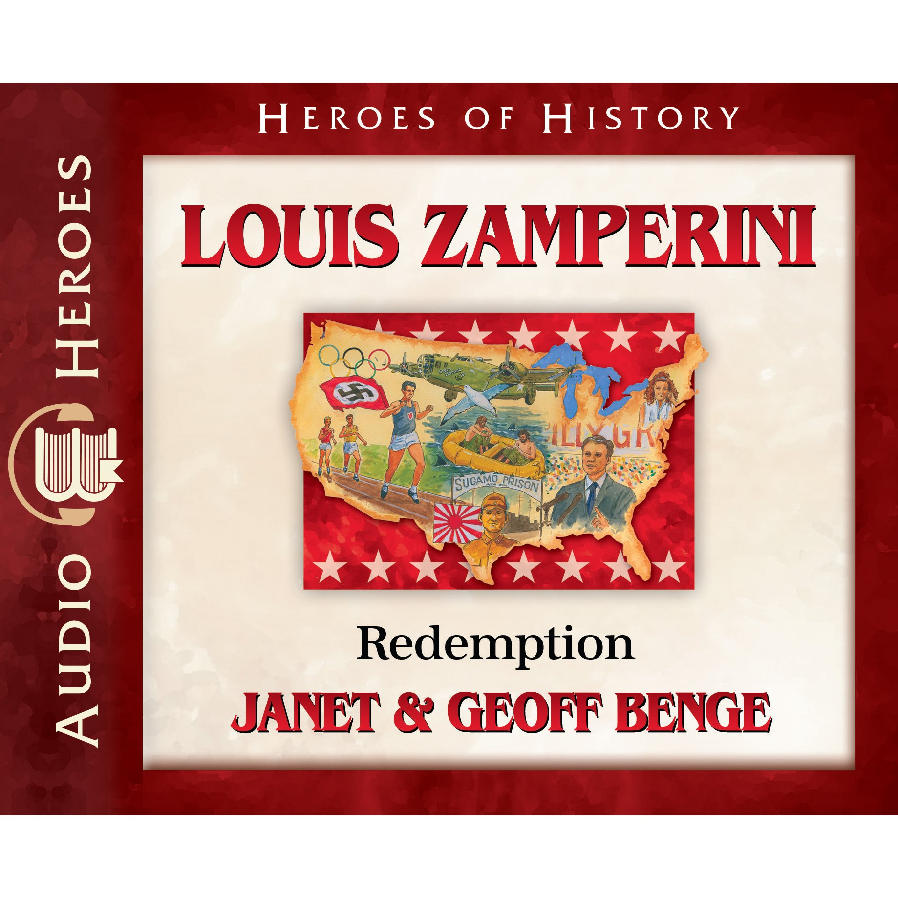 Louis Zamperini Audiobook: Redemption (Heroes of History)