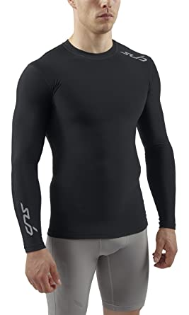 3cf4e3021b1d Sub Sports COLD Men's Thermal Compression Baselayer Long Sleeve Top -  Small, Black