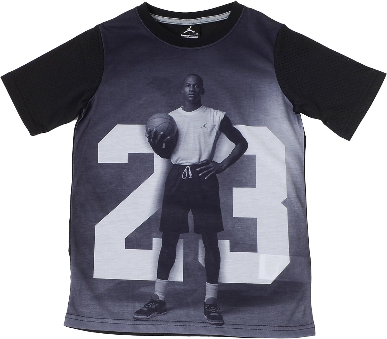Jordan Big Boys Photo Basketball Shirt