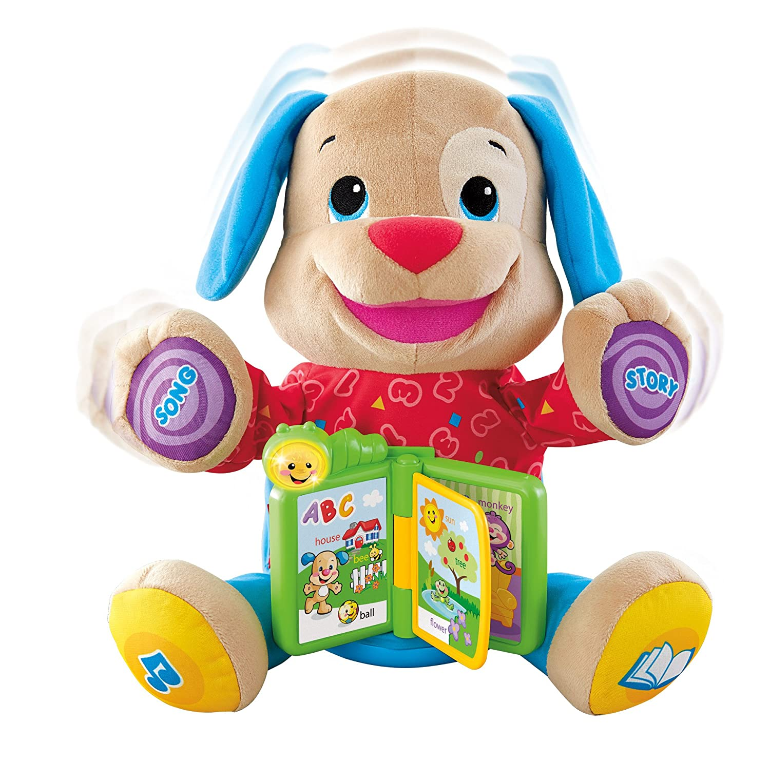 Amazon Fisher Price Laugh and Learn Singin Storytime Puppy