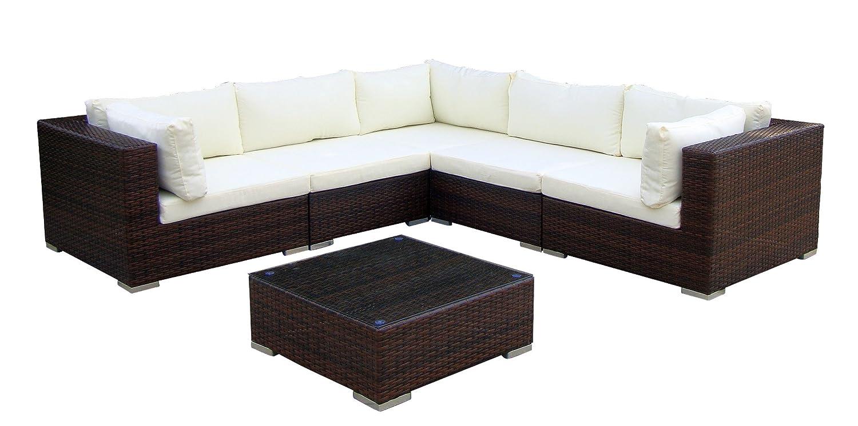 Baidani Gartenmöbel-Sets 10c00017.00002 Designer Lounge-XXL-Sofa ...