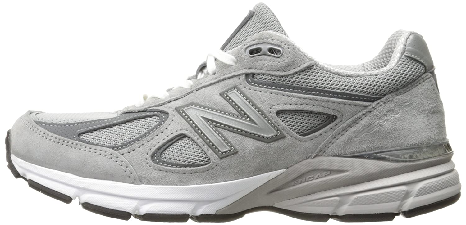 New Balance Women's 9 w990v4 Running Shoe B0163GHUUW 9 Women's B(M) US|Grey/Castlerock 2ffd92