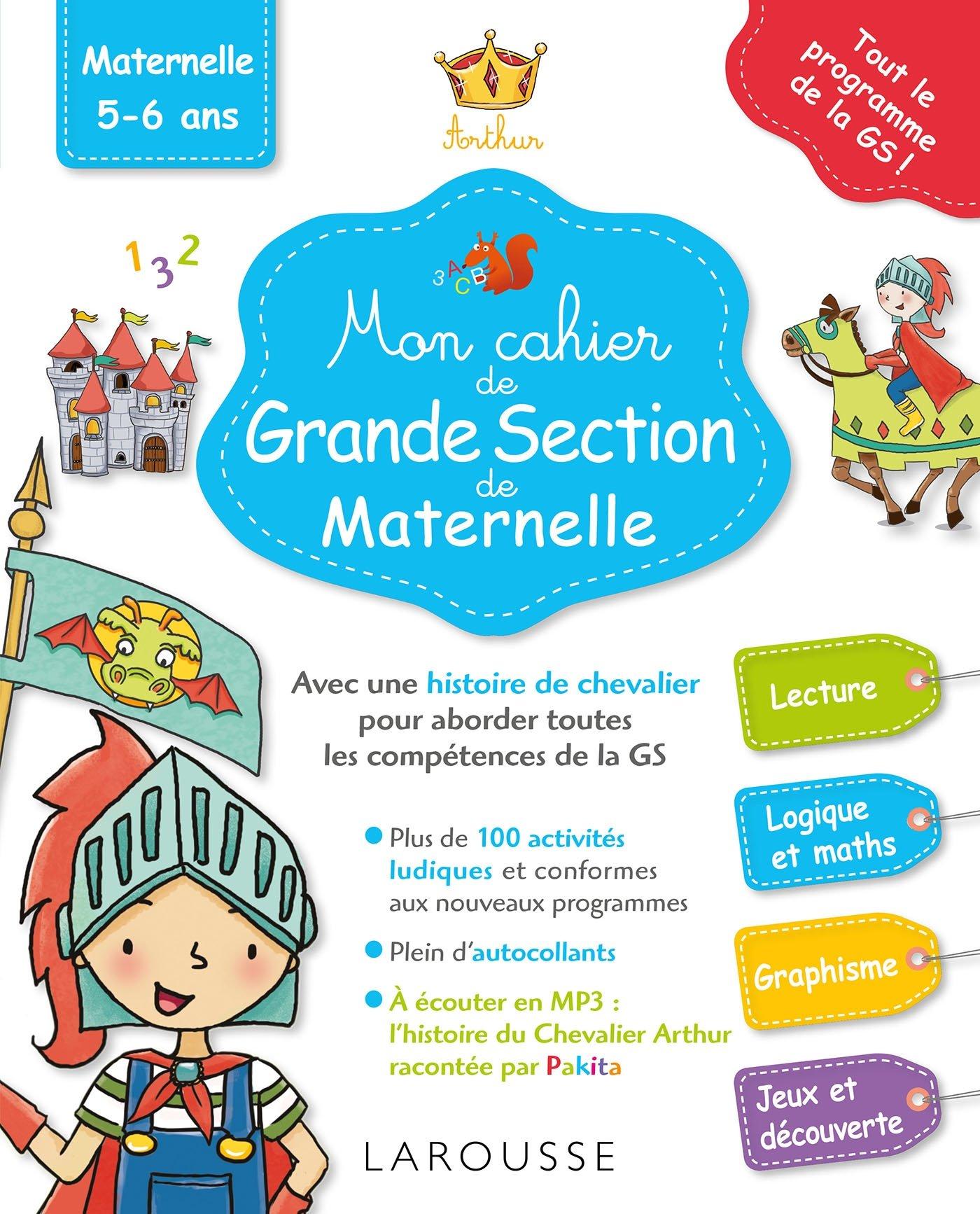 Mon Cahier De Grande Section De Maternelle Amazon Fr Genestine Pascale Livres