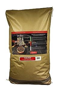 "Blue Ridge Fish Food Pellets, Koi and Goldfish Color Rich Formula, Floating 3/16"" Pellet, Balanced Diet"