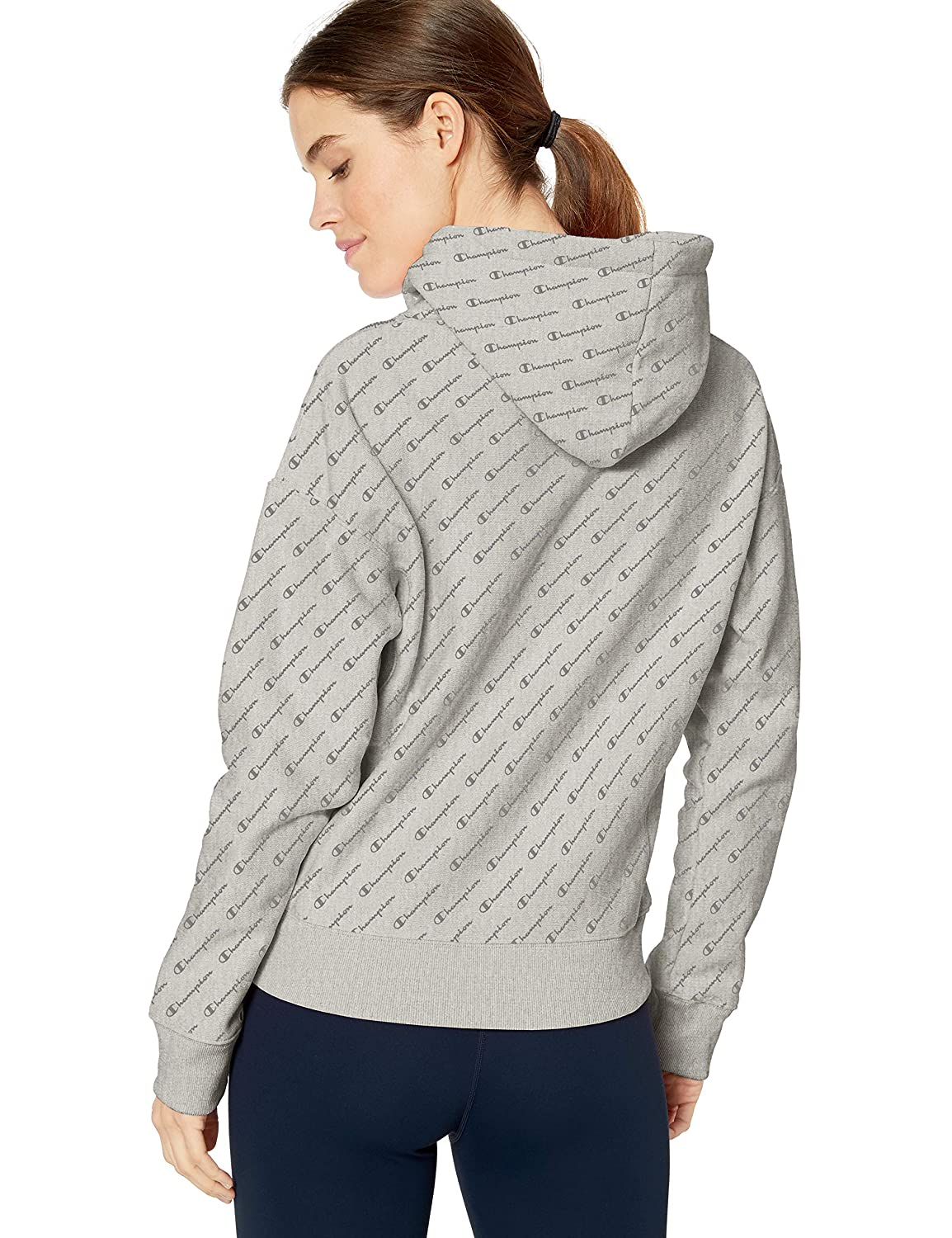 Champion LIFE Womens Printed Reverse Weave Pullover Hood