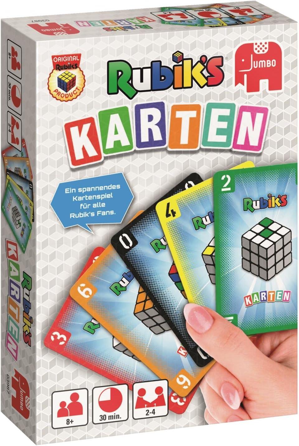 Jumbo Spiele 03987 – Rubiks, Juego de Cartas, Colores: Amazon.es: Juguetes y juegos