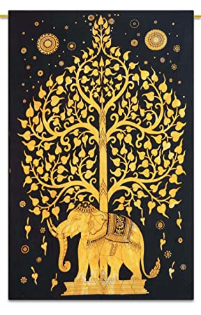 Indian Tapestry Wall Hanging Bohemian Nature Dorm Room Wall Tapestry Full  Size Part 77