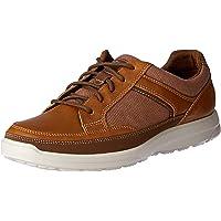 ROCKPORT Men's Casual Lace Up Welker Shoe, Dark Brown, 8 US