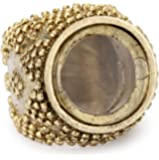 Low Luv by Erin Wasson Gold-Tone Magnifier Ring, Size 8