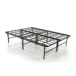 The Purple Platform Base - Mattress Foundation, Platform Bed Frame, Box Spring Replacement, Quiet Noise-Free, Maximum Under-bed Storage, Queen