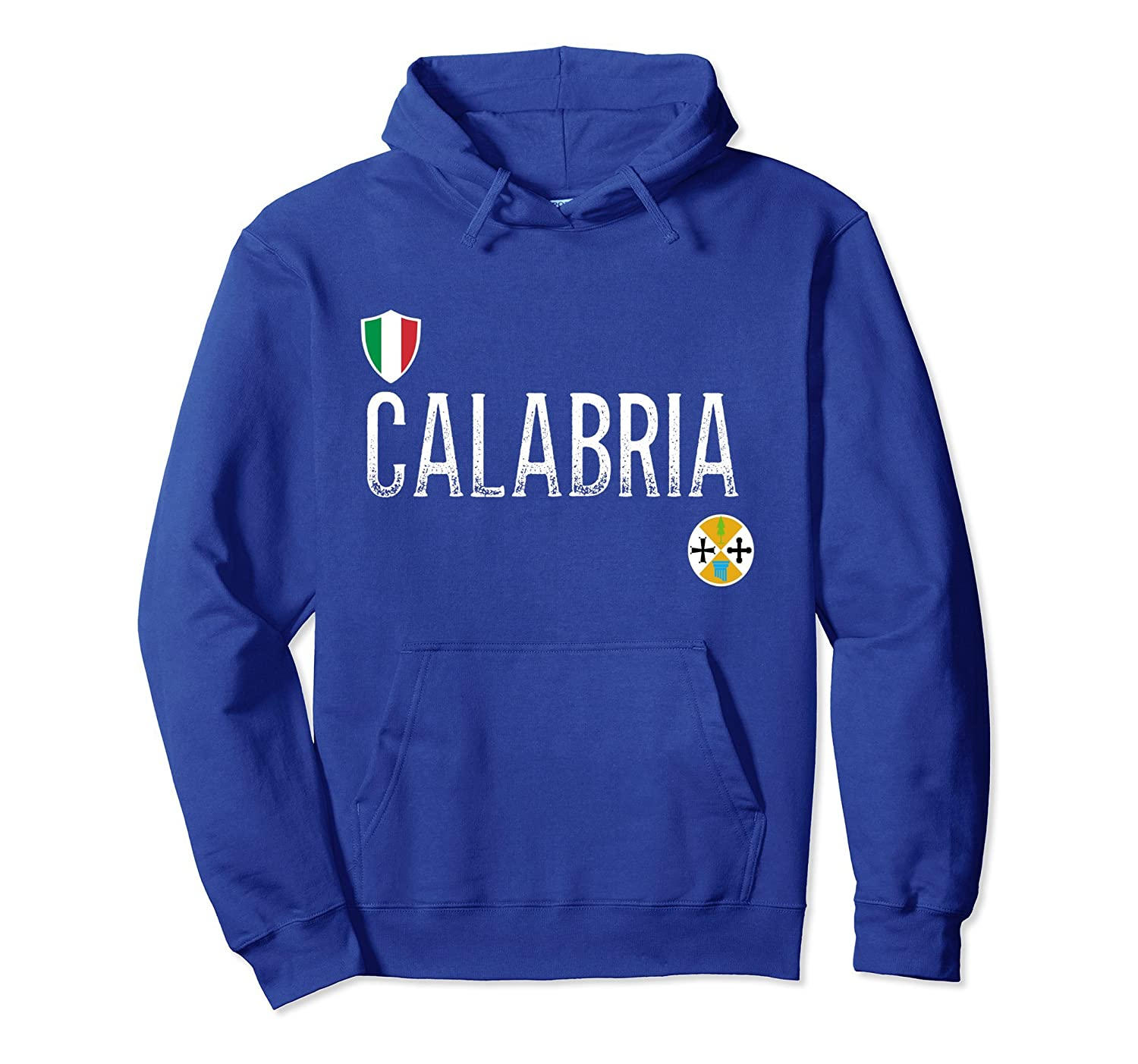 Calabria hoodie - Calabrian soccer style hooded sweatshirt-ah my shirt one gift