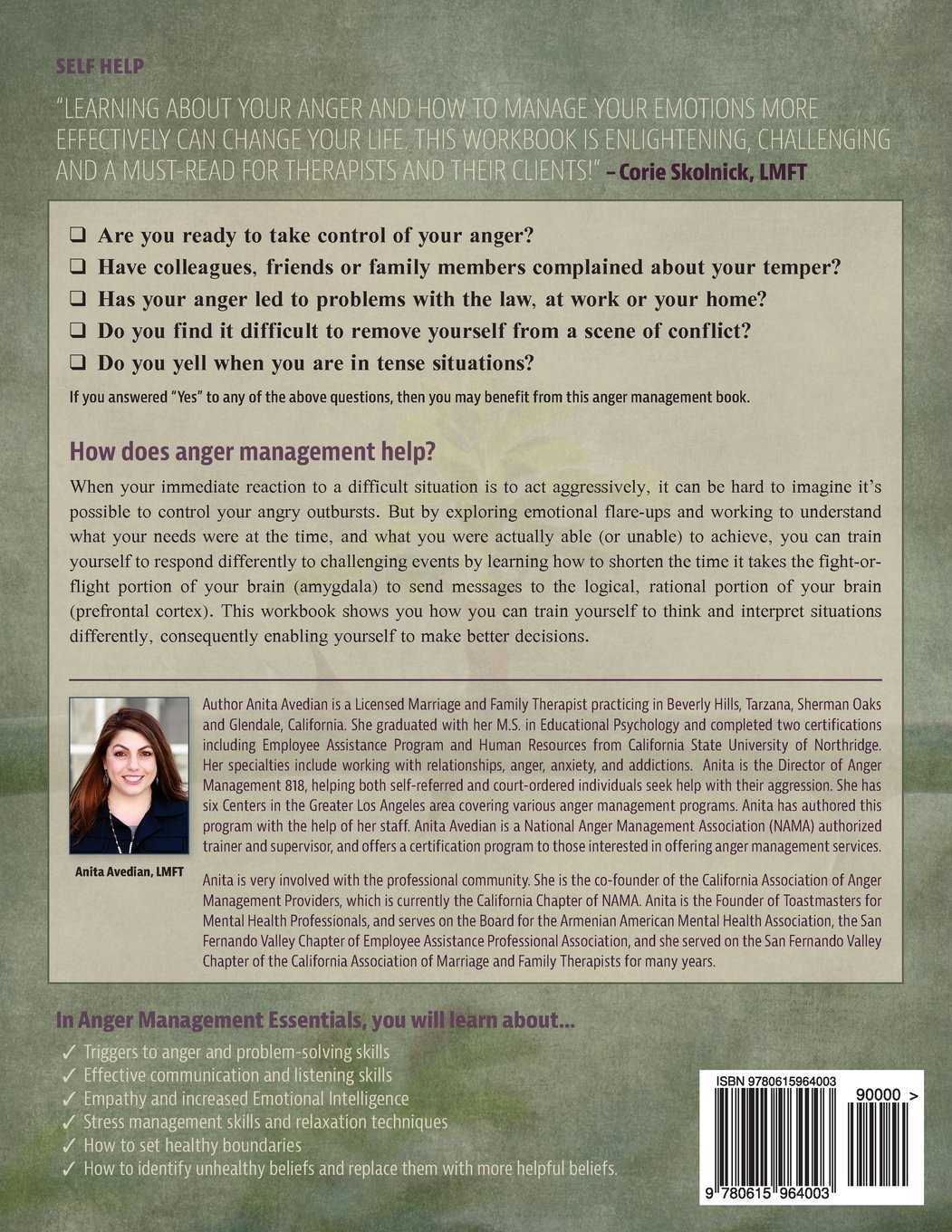 Amazon.com: Anger Management Essentials: A Workbook for People to ...