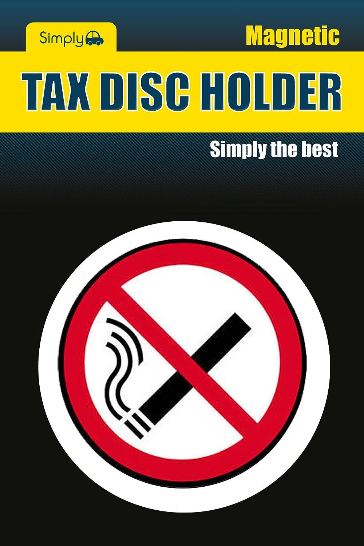 Simply TL8200 No Smoking Tax Disc Holder JRP Distribution