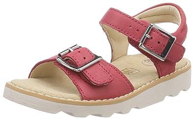 12a41042d4d Clarks Girls  Crown Bloom Ankle Strap Sandals  Amazon.co.uk  Shoes ...