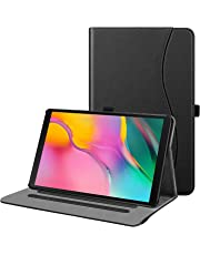 """FINTIE Case for Samsung Galaxy Tab A 10.1 2019 Model SM-T510/T515, Multi-Angle Viewing Folio Stand Cover with Pocket for Samsung Galaxy Tab A 10.1"""" Tablet 2019 Release, Black"""