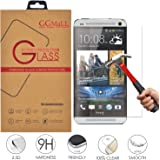 HTC One M7 Screen Protector, GG MALL® HTC M7 Glass Screen Protector - Tempered Glass - Ultra-thin [0.26mm] Ballistics Glass for HTC One M7 (with Retail Package)