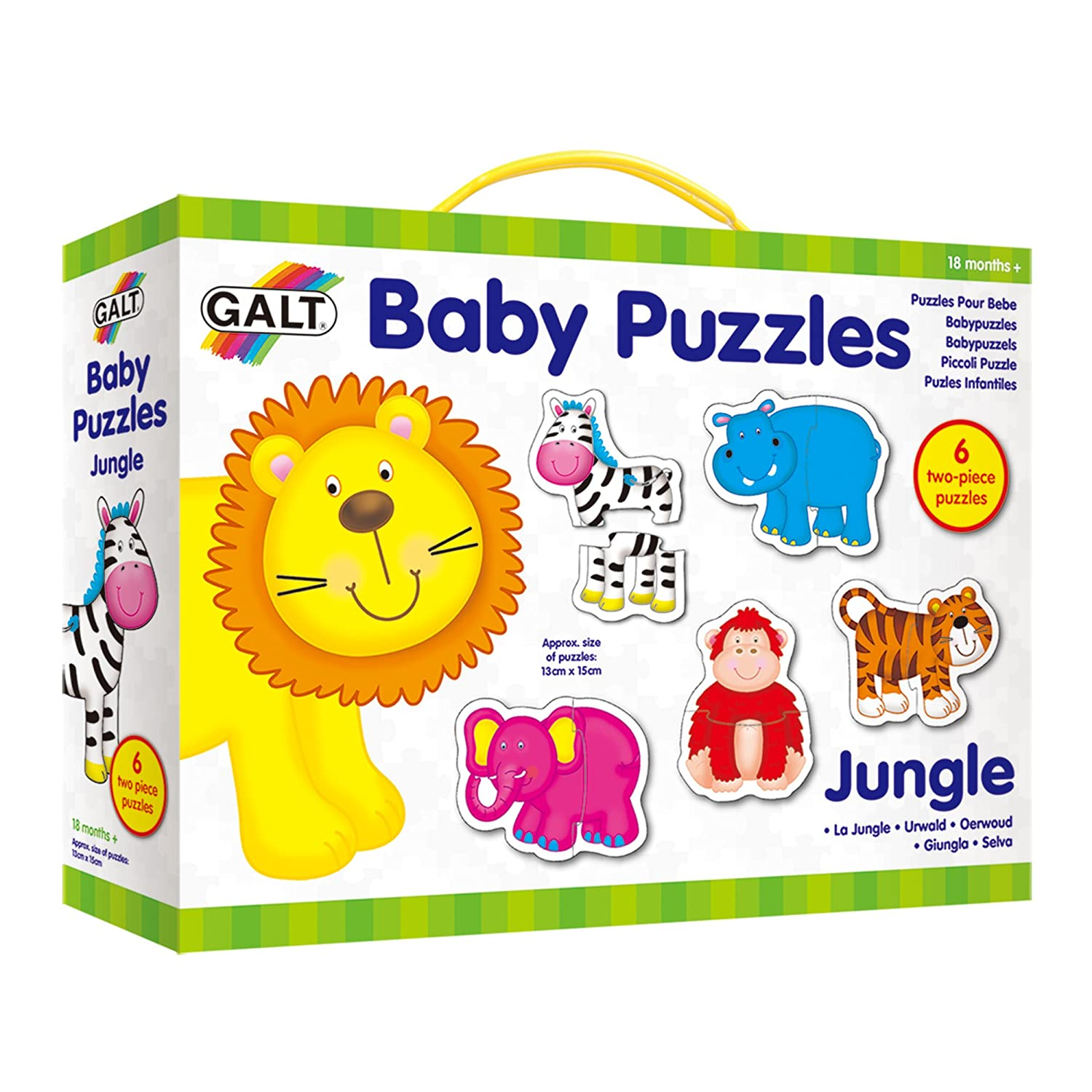 Galt Toys New Baby Puzzles Jungle 1003031 Children's Puzzles Games_and_Puzzles