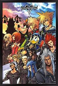 Trends International Disney Kingdom Hearts - Group Wall Poster, 22.375