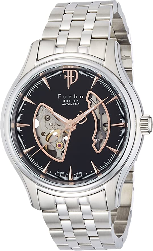 [フルボデザイン] 腕時計 F5025NBKSS メンズ シルバー