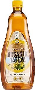 Organic Tattva Organic Mustard Oil, 1L