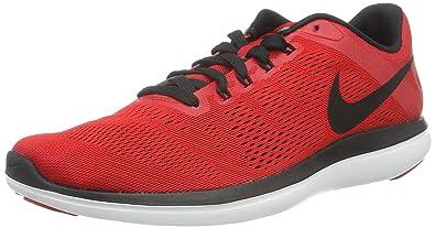 c1b381afd82f0 Nike Men s Flex 2016 Rn University Red Black White Black Running Shoe 11