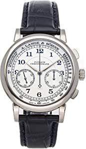 A. Lange & Sohne 1815 Mechanical (Hand-Winding) Silver Dial Mens Watch 414.026 (Pre-Owned)