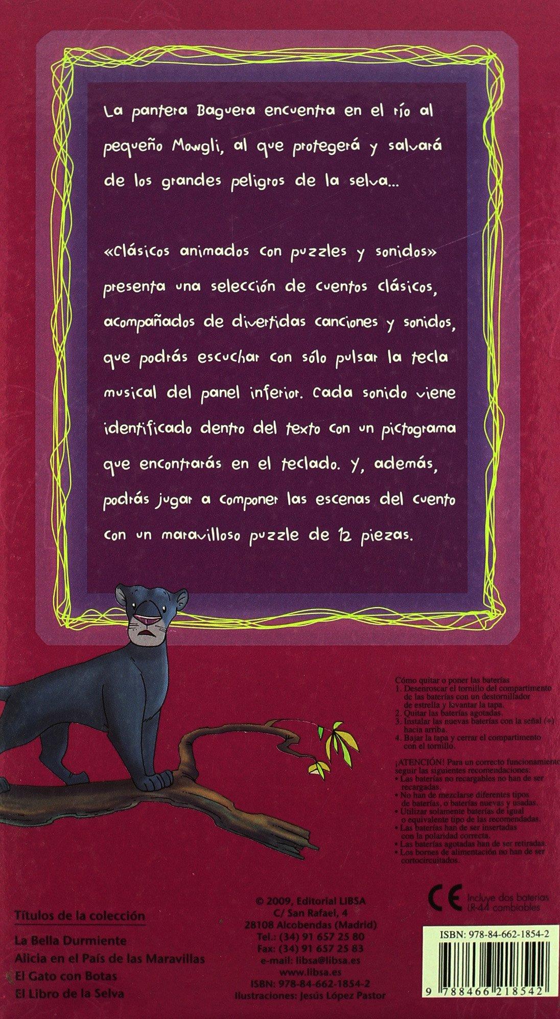 Amazon.com: El libro de la selva / The Jungle Book (Spanish Edition) (9788466218542): Jesus Lopez Pastor: Books
