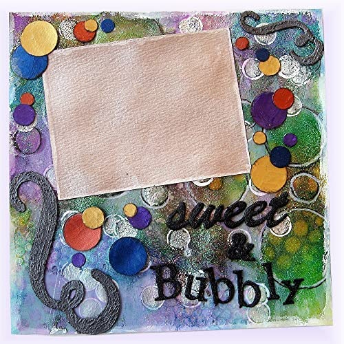 Amazon.com: Fun and Bubbly Picture Frame, Happy Wall Art, Birthday ...