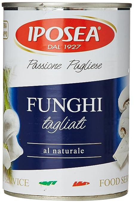 12 opinioni per Iposea- Funghi Tagliati, Al Naturale- 380 G