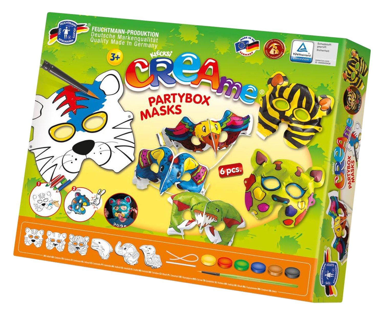 Feuchtmann Klecksi Creame Partybox Mask Painting Set