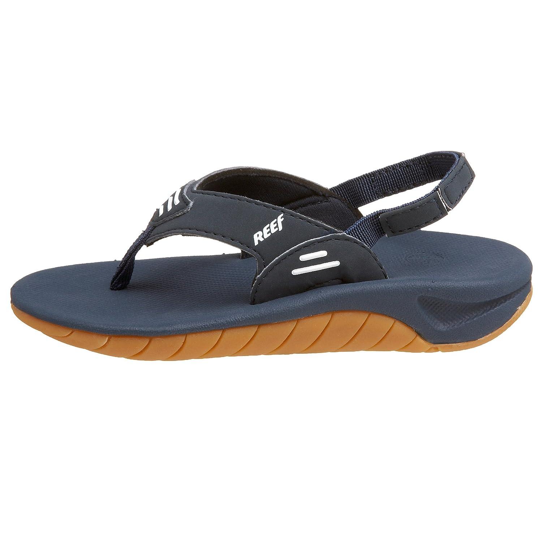 Reef Slap Flip Flop (Toddler/Little Kid/Big Kid),Navy/White/Gum,2/3 M US Little  Kid: Amazon.ca: Shoes & Handbags