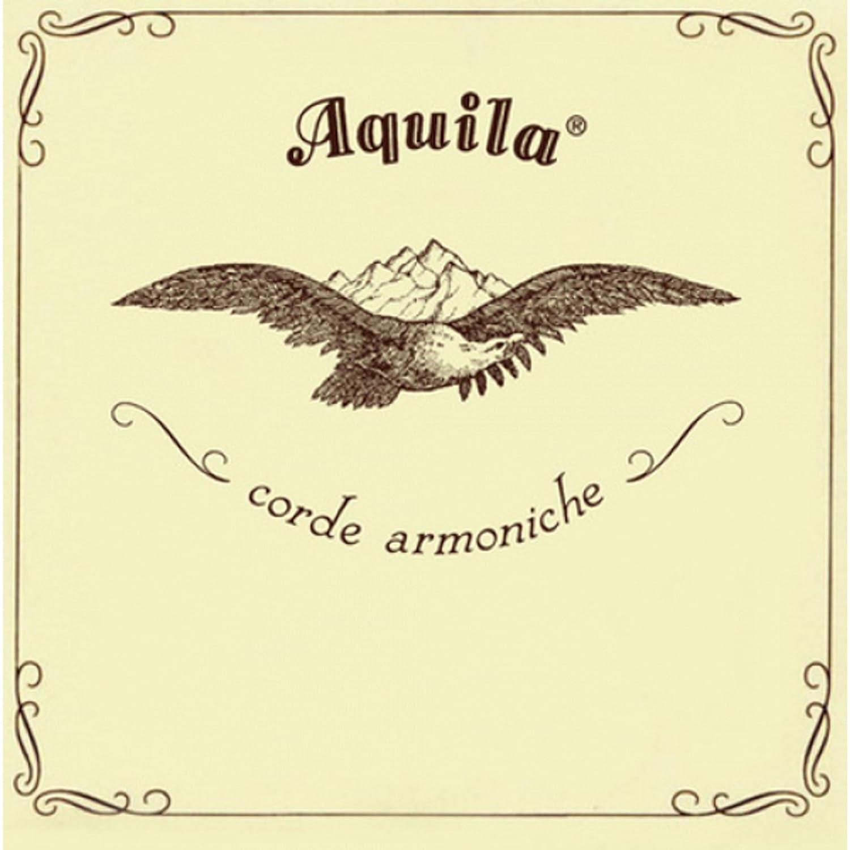 Aquila 55U Konzert-Ukulele-Satz, New Nylgut, Standard-Stimmung, Key of C, GCEA, G-Saite, Aluminium umsponnen, Saitenlänge 76 cm Saitenlänge 76 cm