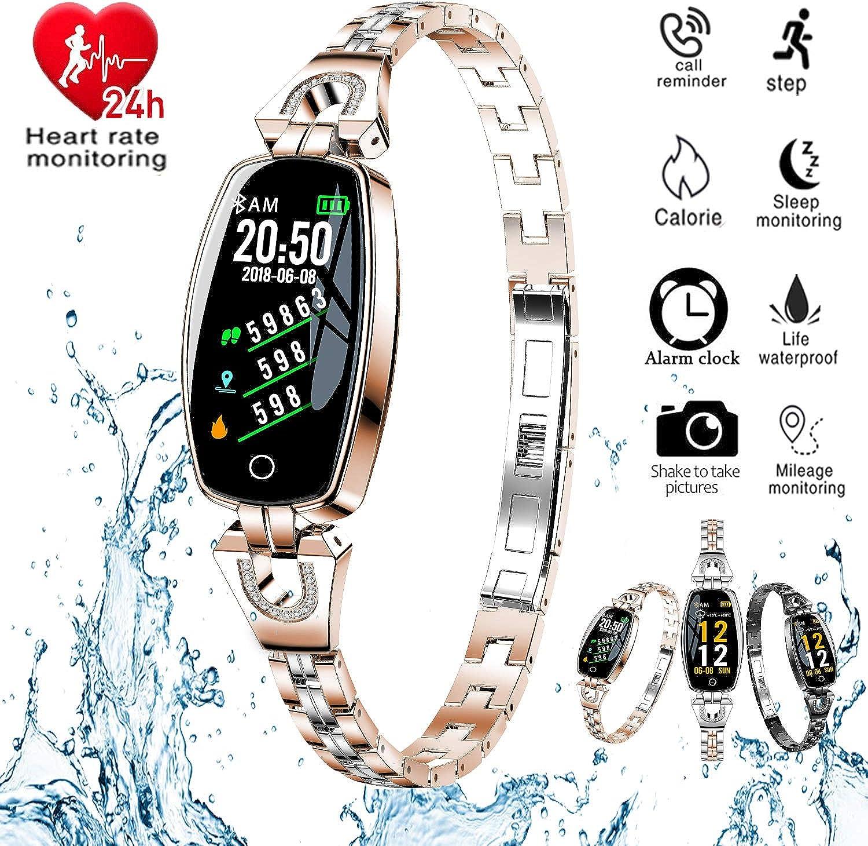 H8 Smart Watch Blood Pressure Heart Rate Monitor Sport Waterproof Bracelet New Fitness Tracker Silver