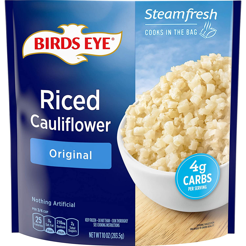 Birds Eye Riced Cauliflower, 10 OZ