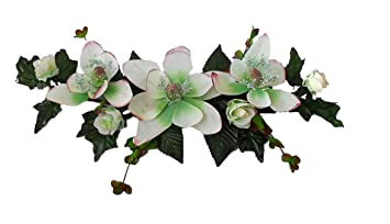 Amazoncom Wholesale Silk Floral 16 Long Silk Magnolia Swag Wall