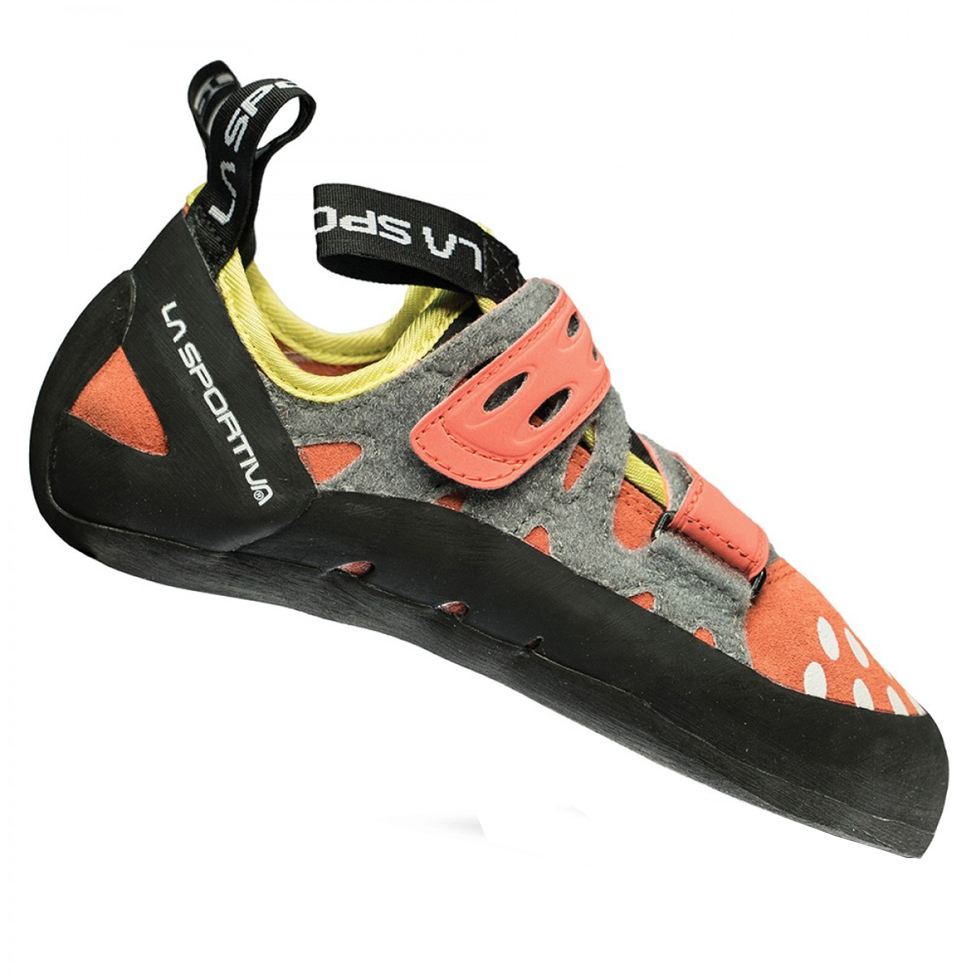La Sportiva Women's Tarantula Performance Rock Climbing Shoe, Coral, Medium/40 M EU/8.5 B(M) US