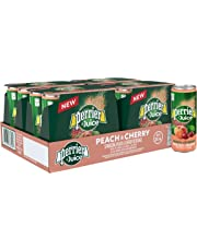 Perrier & Juice Sparkling Peach and Cherry Beverage, 330m can, 24 Count