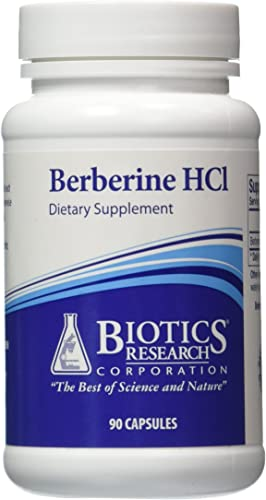 Biotics Research, Berberine HCL 90C