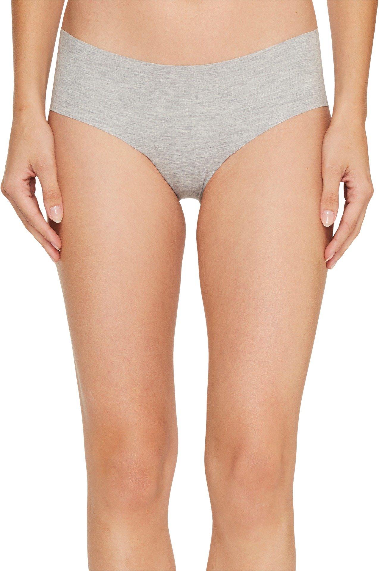 commando Cotton Bikini, Gray, L/XL