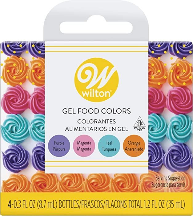 Top 10 Wilton Neon Gel Food Color Set