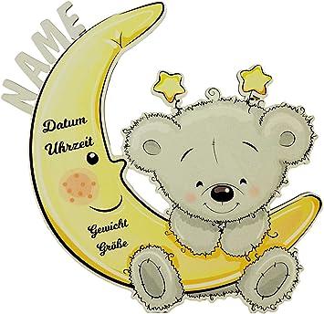 Baby Taufgeschenke Geschenke Nachtlicht Mondbar Zur Geburt Und Taufe