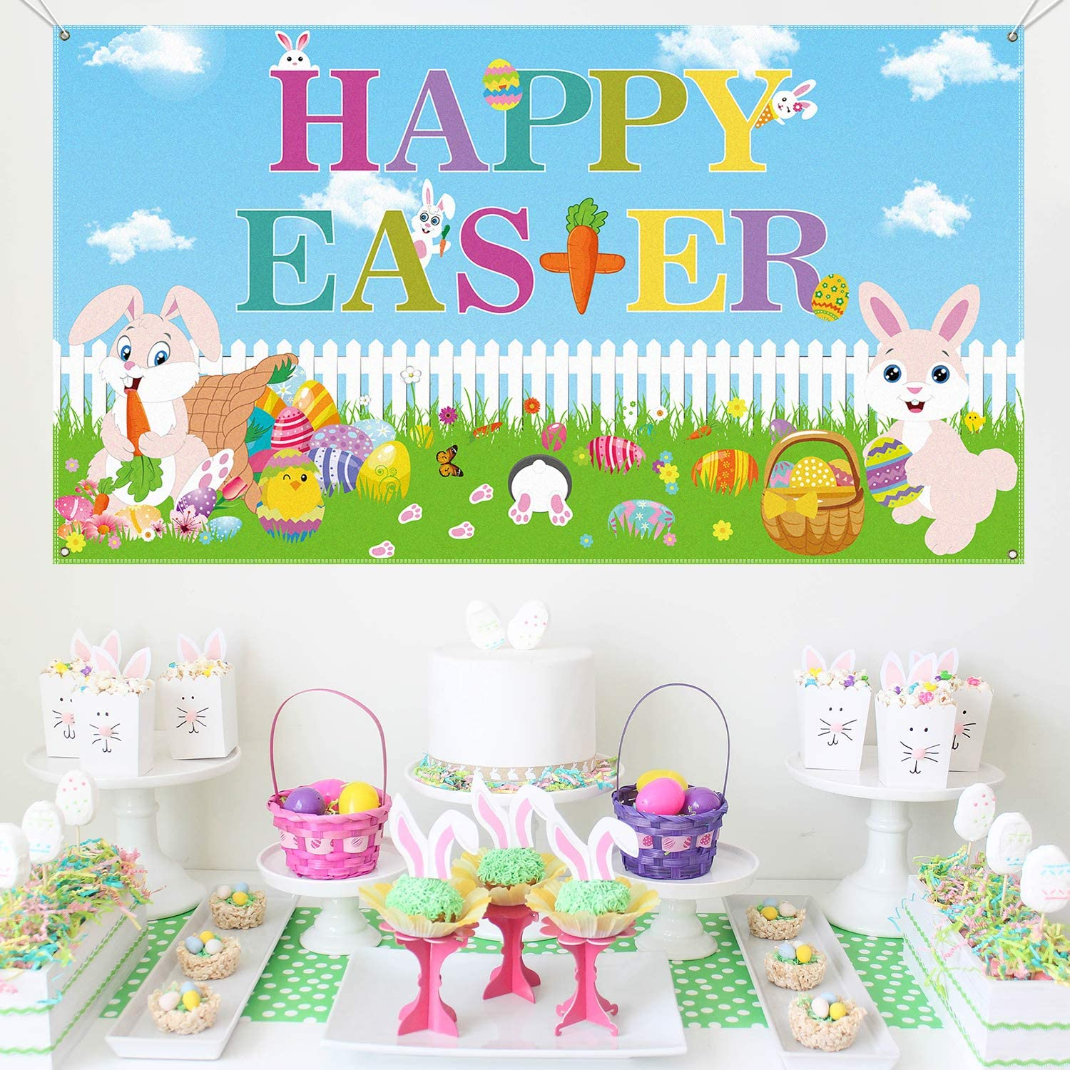 Happy Easter Banner | Extra Large Fabric 70