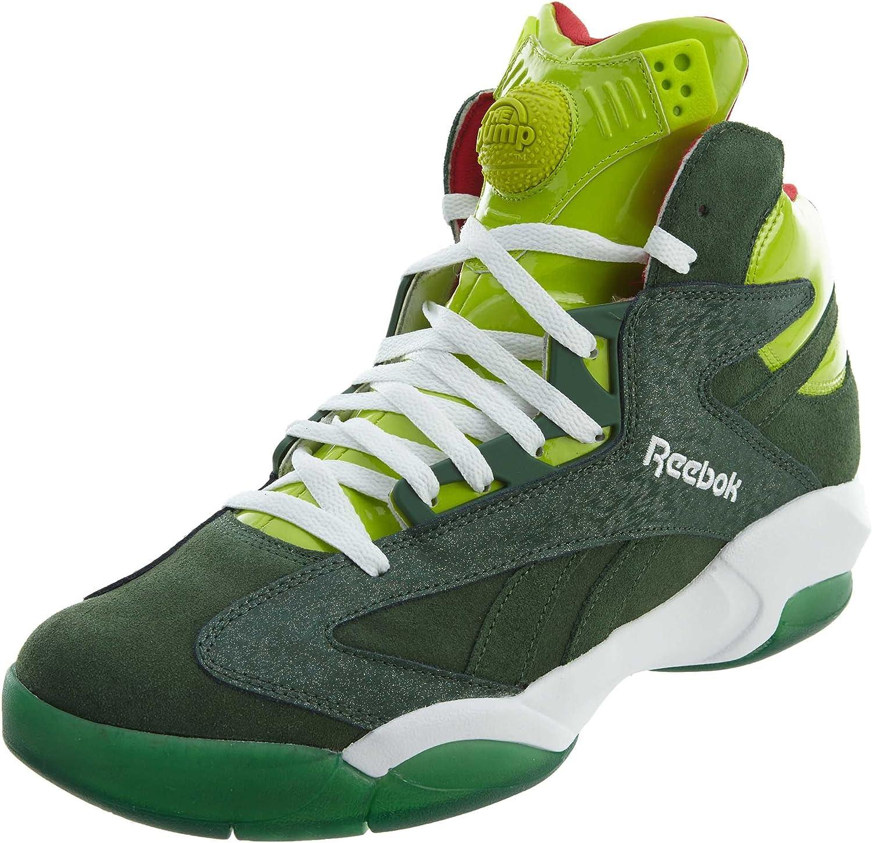 Reebok Shaq Attaq - Zapatillas de Baloncesto para Hombre, Verde ...
