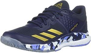 adidas Women's Crazyflight X 2 Volleyball Shoe, WhiteBlack