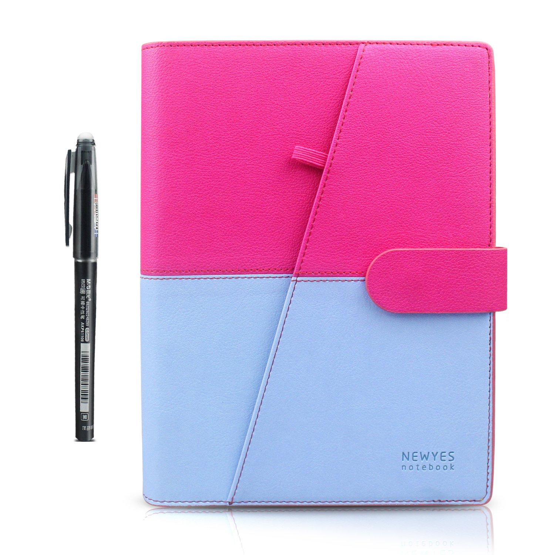 Taccuini Riutilizzabile Inteligente Smart Notebook - Spirale Cancellabile Portatile Notepad Digitale Asciutto Bagnato Cancellare Nuvola Immagazzinamento per Aziende / Incontro /Scuola / Disegno 1 Penna Cancellabile M& G 1 Tessuto 100 Pagine 6.9 x 9 (A5
