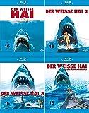 Der weisse Hai 1 - 4 Collection   Jaws Quadrilogy (4-Blu-ray)
