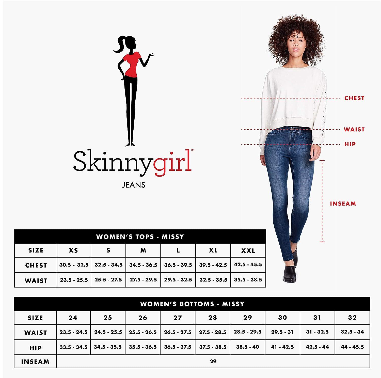 Skinnygirl Womens Frieda Long Sleeve Knit Top