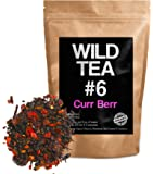 Organic Berry Loose Leaf Tea, Wild Tea #6, Herbal Tea With Hibiscus, Elderberry, Currant and Cranberry (4 ounce)